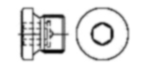 Чертеж DIN 908