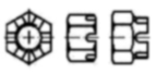 Чертеж DIN 935