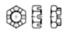 Чертеж DIN 937
